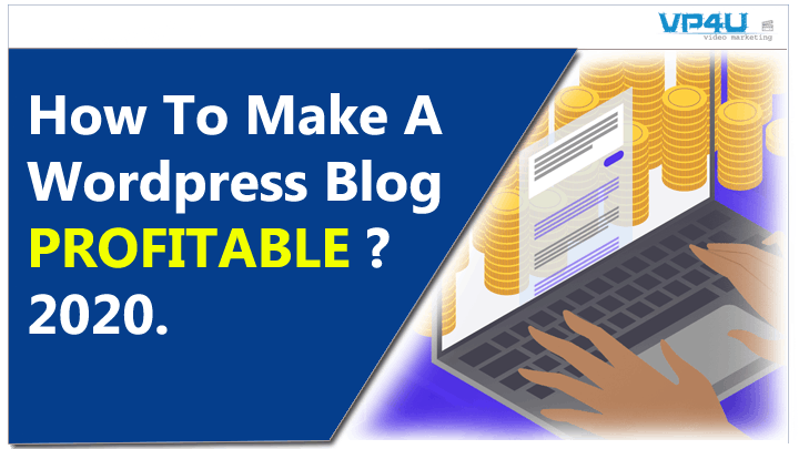 How To Make A Wordpress Blog Profitable
